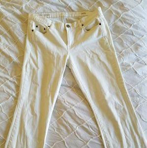 J.crew white jeans 30s